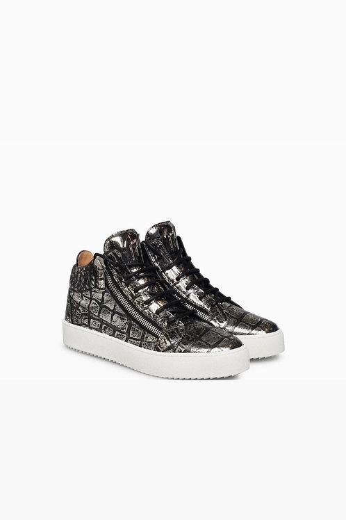 Grey-White Giuseppe Zanotti Sneakers