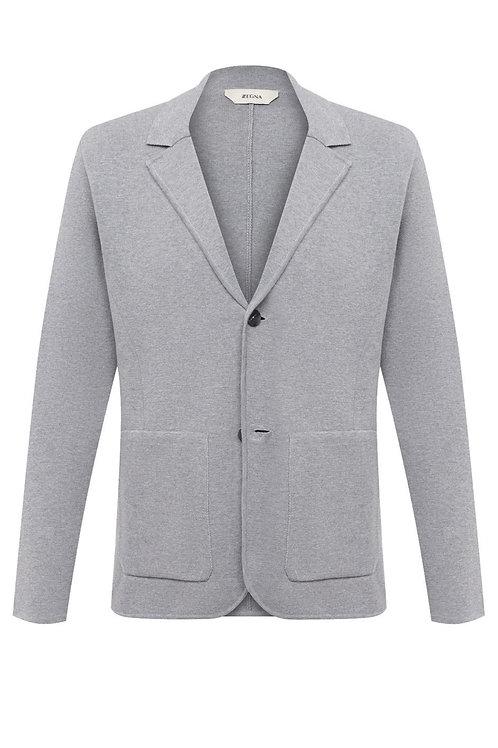 Grey Zegna Knitwear Gilet