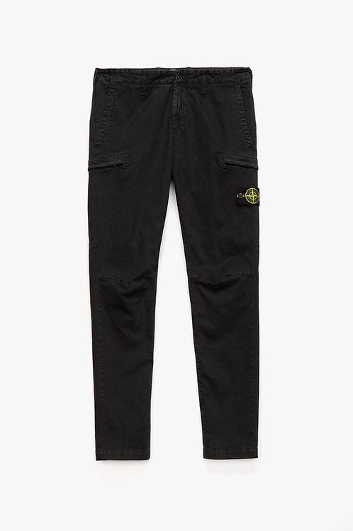 Black Stone Island Cargo Trouser