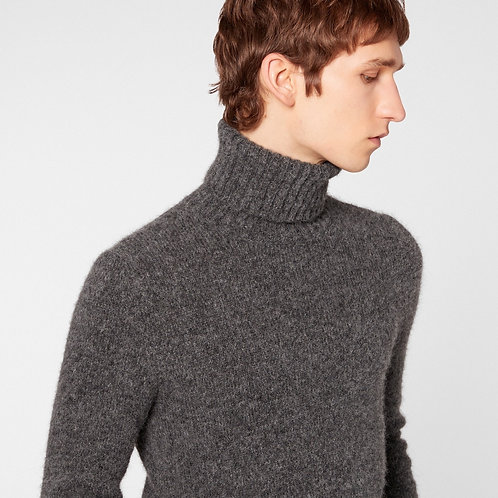 Grey Ami Paris Turtleneck Sweater