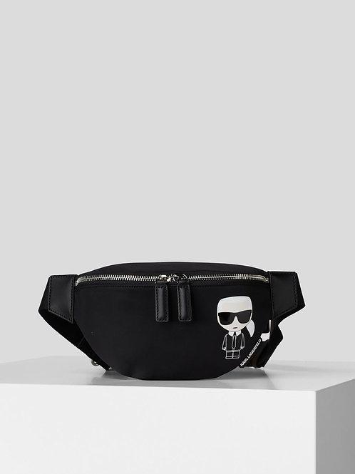 Black Karl Lagerfeld Belt Bag