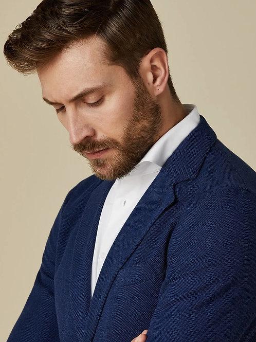 Blue Knitwear  Blazer
