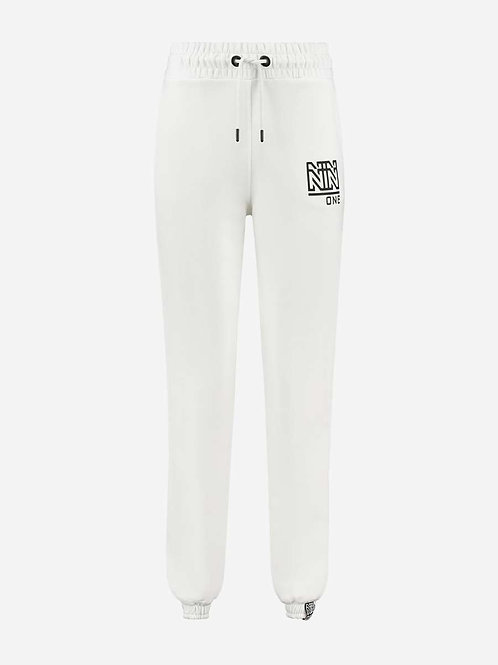 White Nikkie Sweatpants