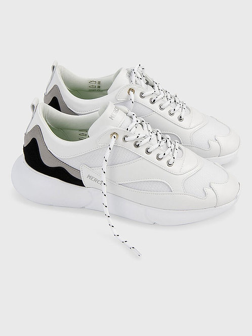 White Mercer Sneakers
