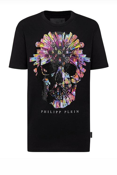 Black Philipp Plein Unisex T-Shirt