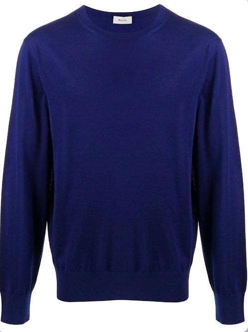 Blue Zegna Knitwear