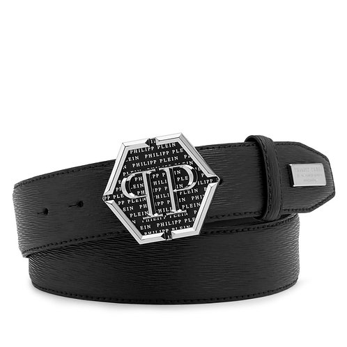 Black Philipp Plein Belt