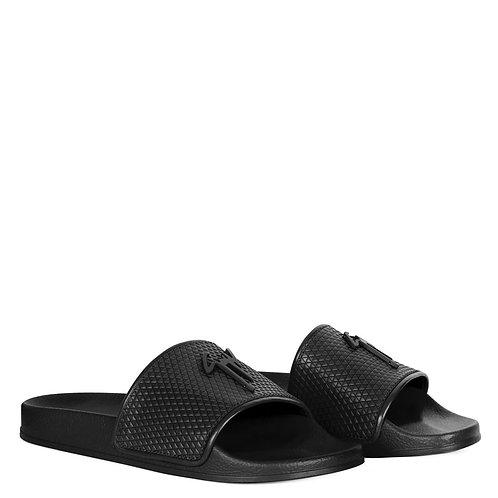 Black Giuseppe Zanotti Slides