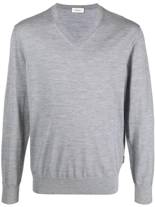 Grey Zegna Knitwear