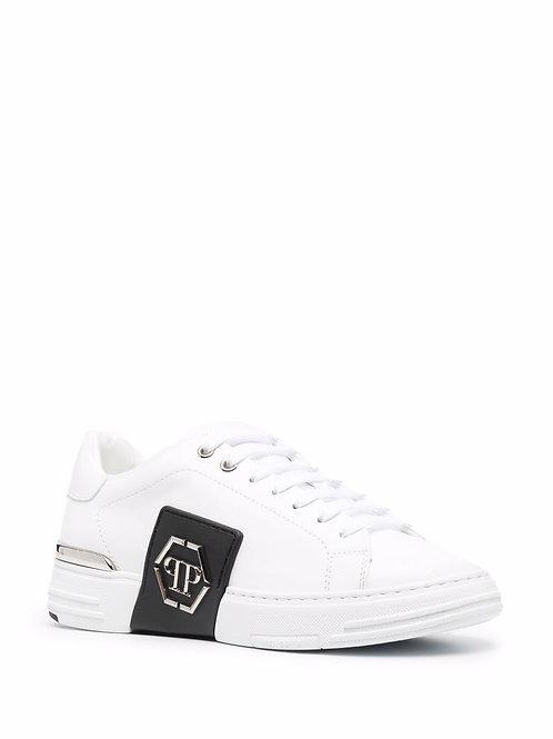 White Phillips Plein Girls Sneakers