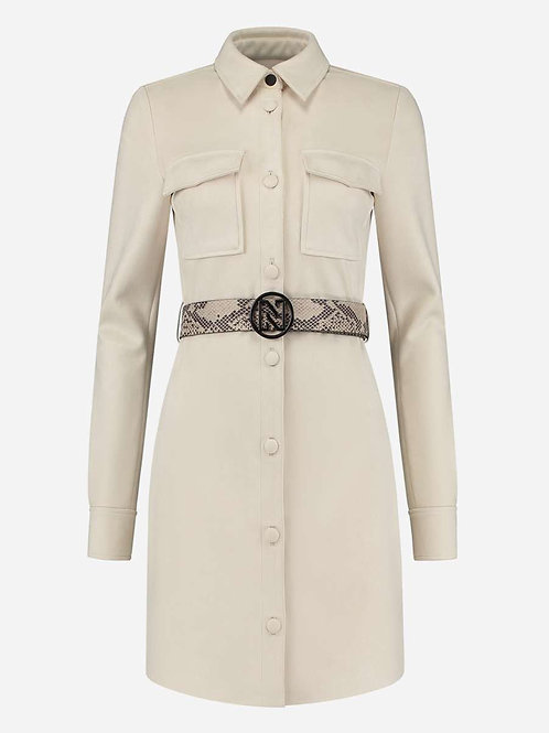 Cream Nikkie Dress
