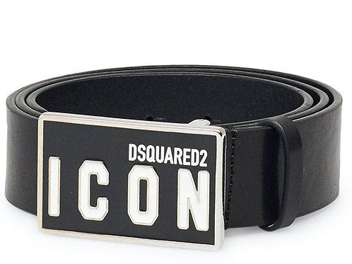 Black Dsquared2 Belt