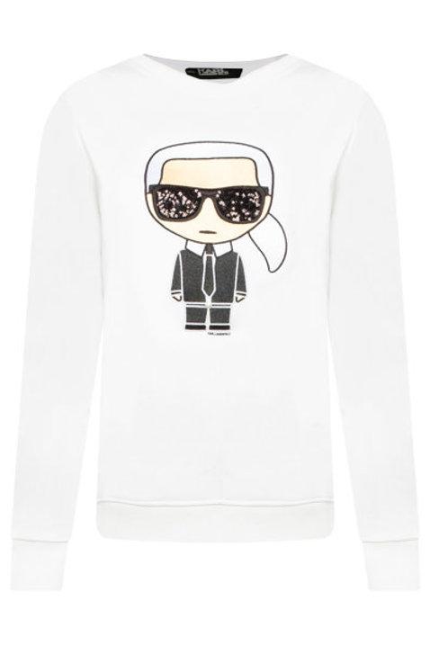 White Karl Lagerfeld Sweater