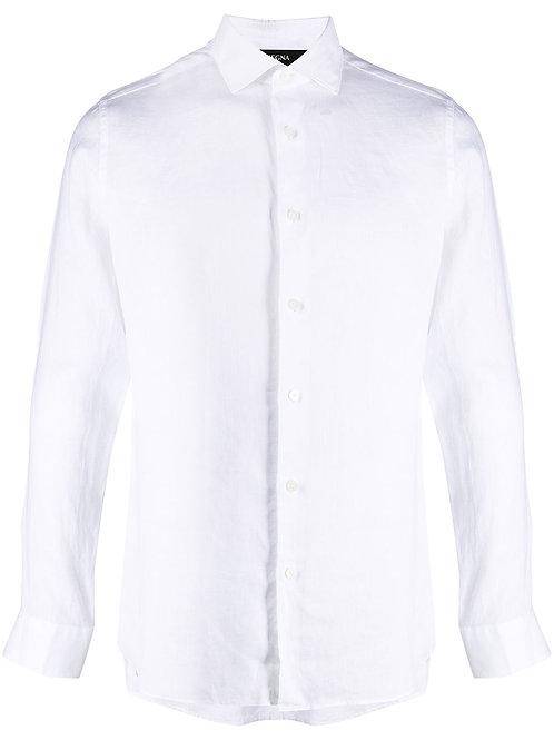 White Linnen Zegna Shirt