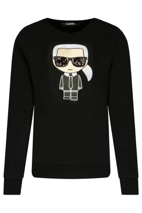 Black Karl Lagerfeld Sweater