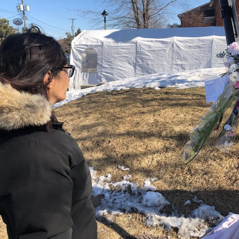 RDP RESIDENTS PAY TRIBUTE TO HIT-AND-RUN VICTIM (MARCH 17 2021)
