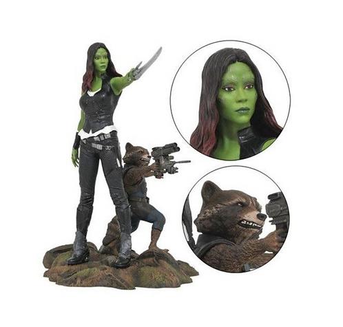 Guardians of the Galaxy- Gamora and Rocket Gallery Diorama