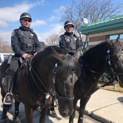 MONTREAL POLICE STEP UP PATROLS IN SAINT-LEONARD (MARCH 25 2021)