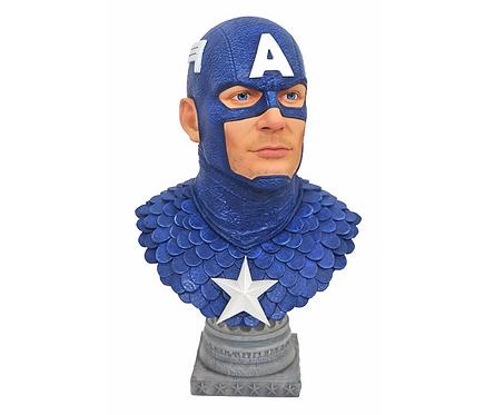Captain America L3D  Bust Polystone Pre-painted Statue