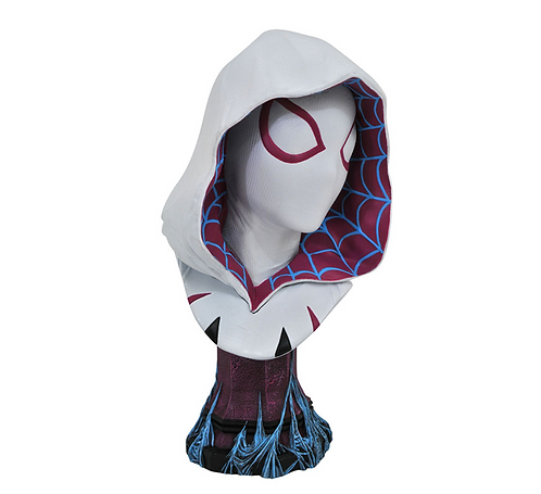Spider-Gwen L3D  Bust Polystone Pre-painted Statue