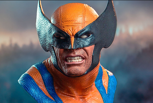 Wolverine L3D  Bust Polystone Pre-painted Statue
