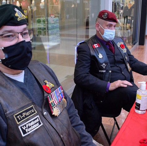 BUY A POPPY FOR REMEMBRANCE DAY (NOVEMBER 3 2020)