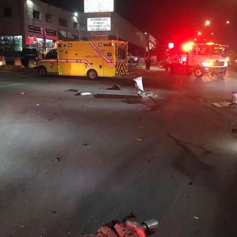 DRAMATIC CAR CRASH IN RIVIÈRE-DES-PRAIRIES (NOVEMBER 11 2020)