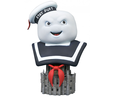 Ghostbusters Stay Puft Marshmallow man L3D  Bust Polystone Pre-painted Statue