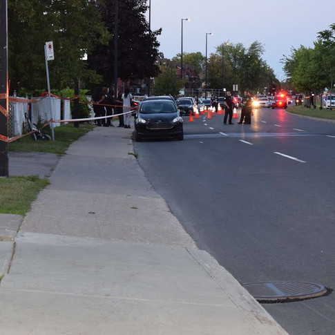 MONTREAL POLICE SAY RDP SHOOTING LIKELY LINKED TO GANGS (AUGUST 3 2021)