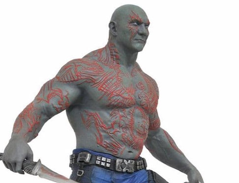 Guardians of the Galaxy- Drax and Groot Gallery Diorama