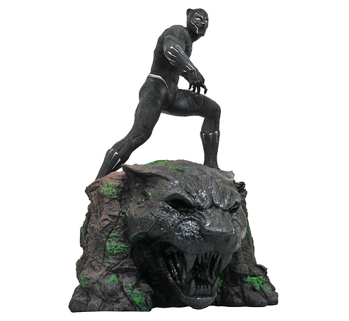 Black Panther  Premier Polystone Pre-painted Statue