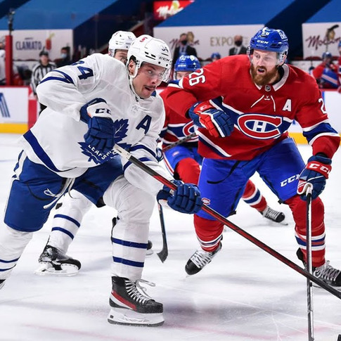 CANADIENS vs MAPLE LEAFS SERIES BEGINS THURSDAY (MAY 20 2021)