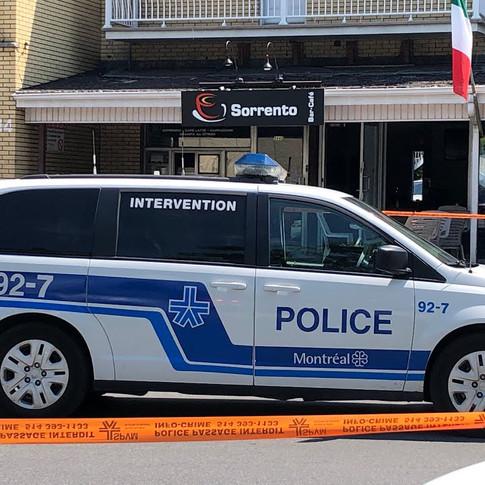 MAN INJURED IN DRIVE-BY SHOOTING IN SAINT-LEONARD (JULY 22 2021)