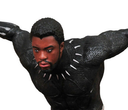 Black Panther - Unmasked Chadwick Boseman Gallery Diorama