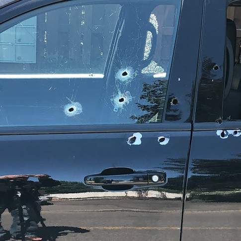VEHICLE FOUND RIDDLED WITH BULLET HOLES IN RDP (MAY 29 2021)