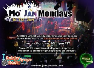 Mo' Jam Mondays launching live weekly radio show on Rainier Avenue Radio starting on Christmas