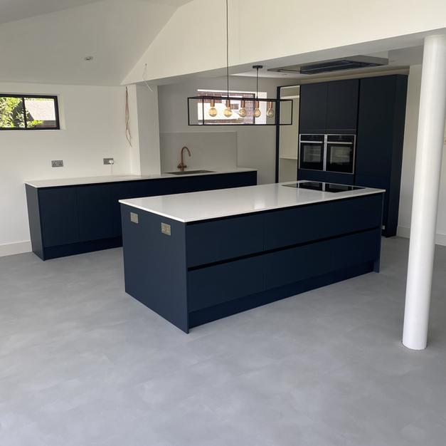 Open plan kitchen / diner