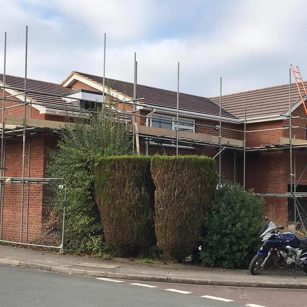 Large 2 storey extension