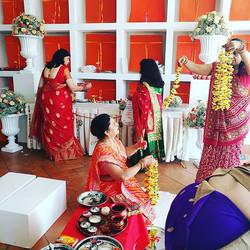 Here we are! Vidi ceremony at _savoybeachhotel #weddingday #weddingplanner #lovemyjob