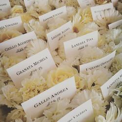 #tableau #seatingcards #weddingday #weddingplanner #freshflowers