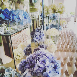 Wedding in white and light blue in #paestum