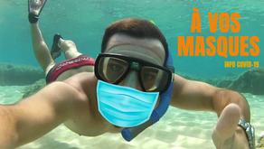 INFO COVID-19 : A vos masques? Prêts? Partez …!