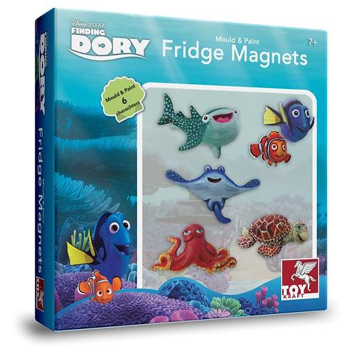Finding Dory - Mould & Paint - Fridge Magnets