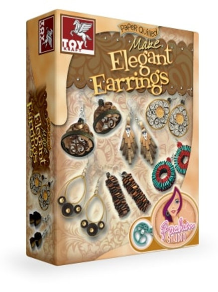 PAPER QUILLED ELEGANT EARRINGS