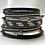 Thumbnail: Grey Textured Bracelet