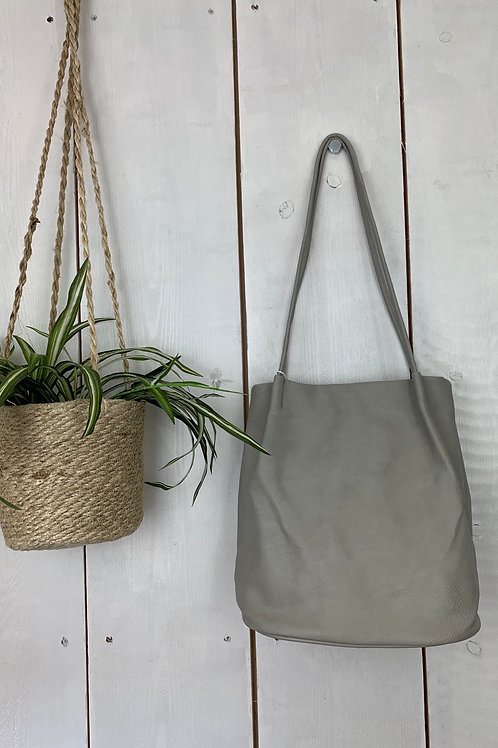 Light Grey Bucket Bag