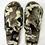 Thumbnail: Khaki Leopard Sport Open Toe Slipper