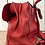 Thumbnail: Red Oval Brass Clasp Rucksack