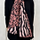 Thumbnail: Animal Print Pink/Black Soft Scarf