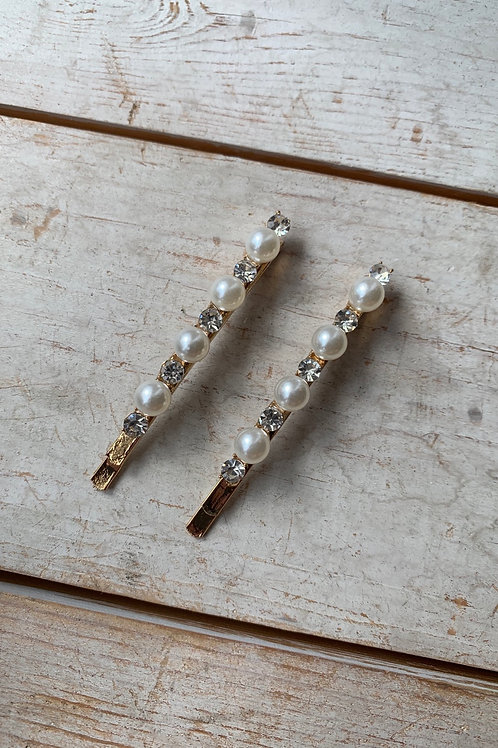 Pearl and Dimond Clip